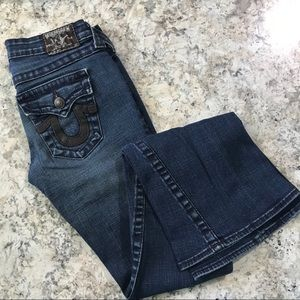 True Religion Joey Leather Pocket Bootcut